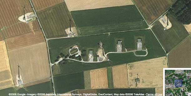 Schoeppinger Berg - Satellite Image